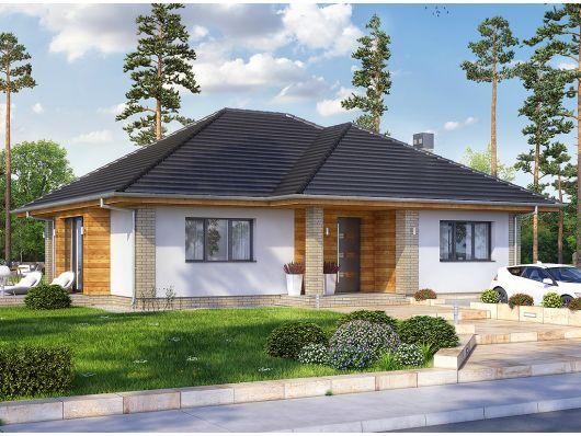 California 2 - projekt domu jednorodzinnego