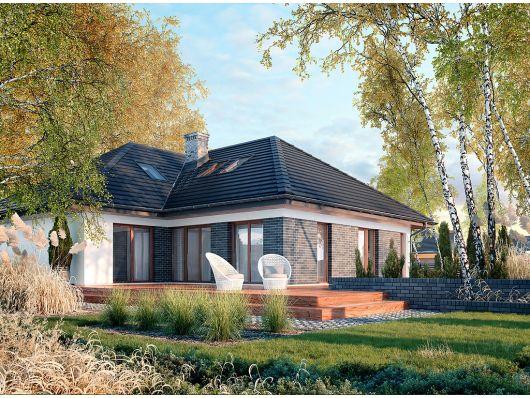 Nebraska - nowoczesny i komfortowy projekt domu